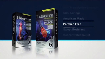 Lidocare Pain Relief Patch TV Spot, 'Block Pain' - Thumbnail 3