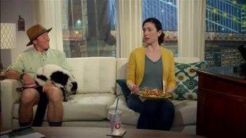 Zaxby's Zensation Zalad TV Spot, 'Late Night Show'