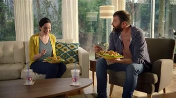 Zaxby's Zensation Zalad TV Spot, 'Late Night Show' - Thumbnail 1