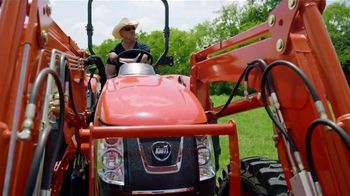 Kioti Tractors TV Spot, 'Horsepower' Featuring Trace Atkins
