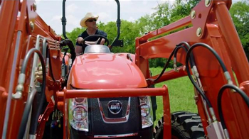 Kioti Tractors TV Spot, 'Horsepower' Featuring Trace Atkins - 155 commercial airings