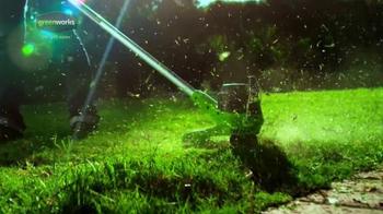 GreenWorks TV Spot, 'Spring 2016' - Thumbnail 3