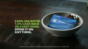 Chase Freedom Unlimited TV Spot, 'Everything Unlimited' Feat. Ellie Kemper - Thumbnail 5