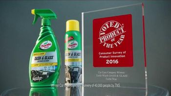 Turtle Wax Dash & Glass TV Spot, 'Product of the Year'