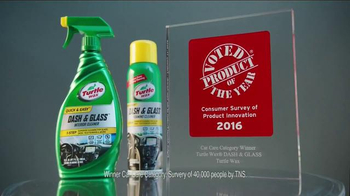 Turtle Wax Dash & Glass TV Spot, 'Product of the Year' - Thumbnail 4