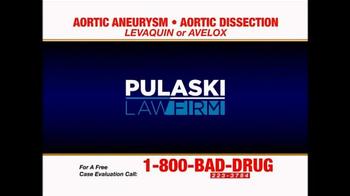 Pulaski Law Firm TV Spot, 'Levaquin or Avelox' - Thumbnail 1