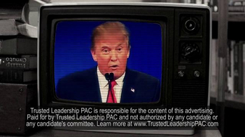 Trusted Leadership PAC TV Spot, 'New Reality Show' - Thumbnail 9
