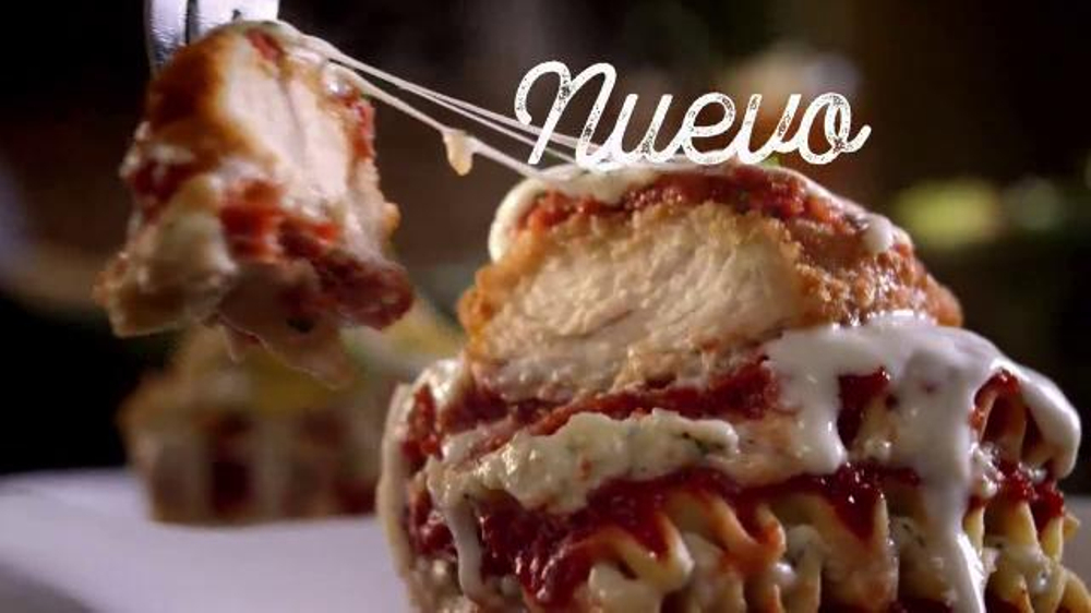 Olive Garden TV Commercial, 'Lasa??as Totalmente Nuevas'
