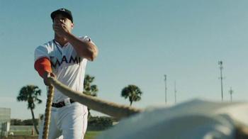 Major League Baseball TV Spot, '#THIS: Giancarlo Stanton Is Strong' - Thumbnail 9