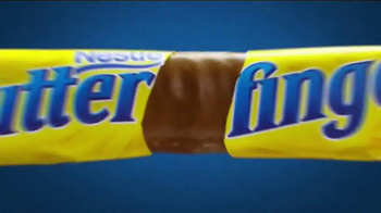 Butterfinger TV Spot, 'Bolder Than Bold: Bright Yellow Wrapper & Sticky' - Thumbnail 1