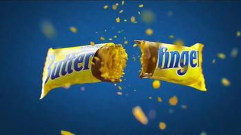 Butterfinger TV Spot, 'Bolder Than Bold: Bright Yellow Wrapper & Sticky' - Thumbnail 6