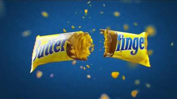 Butterfinger TV Spot, 'Bolder Than Bold: Bright Yellow Wrapper & Sticky' - Thumbnail 7