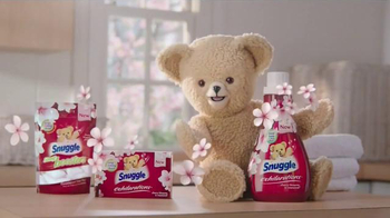 Snuggle Exhilarations Cherry Blossom TV Spot, 'Bloom' - 5758 commercial airings