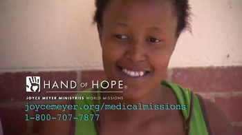 Joyce Meyer Ministries TV Spot, 'Hand of Hope: Hooked' - Thumbnail 9