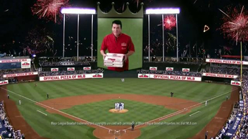 Papa John's TV Spot, 'The Official Pizza of MLB'