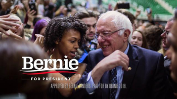 Bernie 2016 TV Spot, 'These Are Mothers and Fathers, Sons and Daughters' - Thumbnail 9