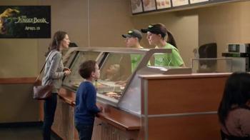 Subway TV Spot, 'The Jungle Book: Veggies' - Thumbnail 6