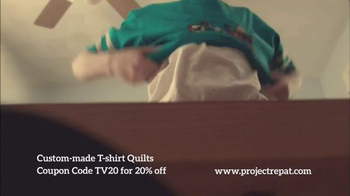 Project Repat TV Spot, 'Every Shirt Tells a Story' - Thumbnail 3