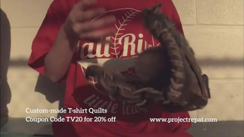 Project Repat TV Spot, 'Every Shirt Tells a Story' - Thumbnail 4