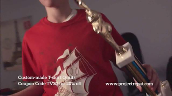 Project Repat TV Spot, 'Every Shirt Tells a Story' - Thumbnail 5