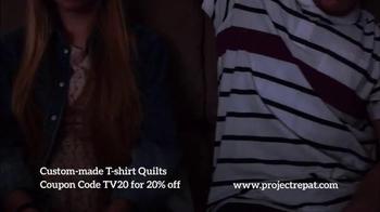 Project Repat TV Spot, 'Every Shirt Tells a Story' - Thumbnail 6