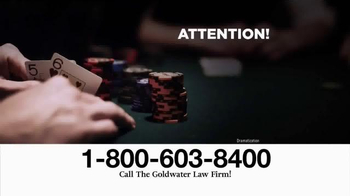 Goldwater Law Firm TV Spot, 'Abilify: Compulsive Gambling' - Thumbnail 1