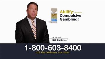 Goldwater Law Firm TV Spot, 'Abilify: Compulsive Gambling' - Thumbnail 3