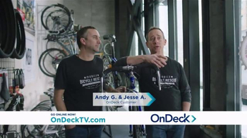 OnDeck TV Spot, 'Andy & Jesse: Mobile Bicycle Rescue' - 1025 commercial airings