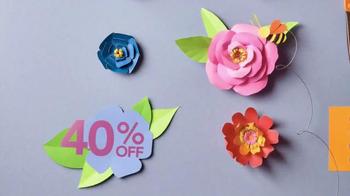 Jo-Ann Daffodil Dash Sale TV Spot, 'Spring Crafts' - Thumbnail 4