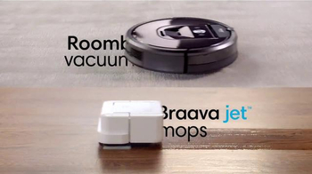 iRobot Braava Jet TV Spot, 'Vacuum and Mop' - Thumbnail 10