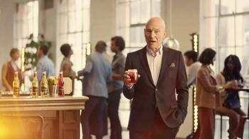 Strongbow Cherry Blossom TV Spot, 'Acting' Featuring Patrick Stewart - Thumbnail 4