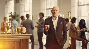 Strongbow Cherry Blossom TV Spot, 'Acting' Featuring Patrick Stewart - Thumbnail 6