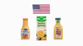 Florida's Natural Orange Juice TV Spot, 'Flag' - Thumbnail 4
