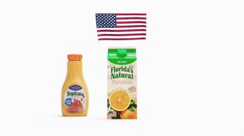 Florida's Natural Orange Juice TV Spot, 'Flag' - Thumbnail 5