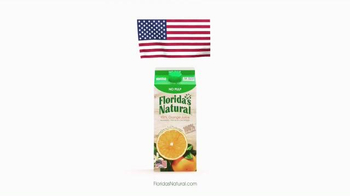 Florida's Natural Orange Juice TV Spot, 'Flag' - Thumbnail 7