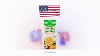 Florida's Natural Orange Juice TV Spot, 'Flag' - Thumbnail 8