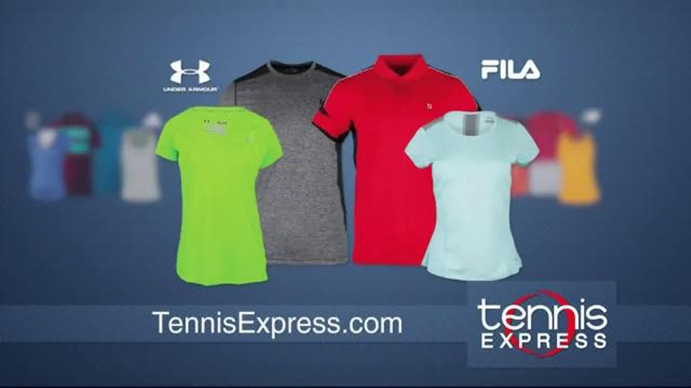 Tennis Express TV Commercial, 'Largest Selection in the World'