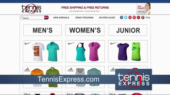Tennis Express TV Spot, 'Largest Selection in the World' - Thumbnail 2