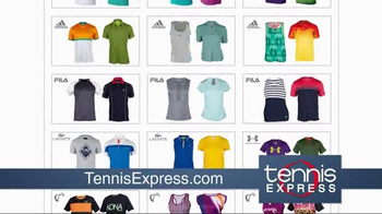 Tennis Express TV Spot, 'Largest Selection in the World' - Thumbnail 3