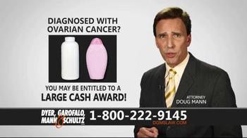Dyer, Garofalo, Mann & Schultz TV Spot, 'Talc Baby Powder Products' - Thumbnail 5