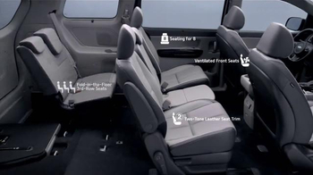 2016 Kia Sedona TV Spot, 'Styling, Seating & Safety' - Thumbnail 2