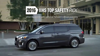 2016 Kia Sedona TV Spot, 'Styling, Seating & Safety'