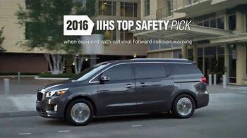 2016 Kia Sedona TV Spot, 'Styling, Seating & Safety'