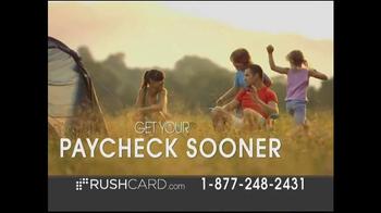 RushCard TV Spot, \'Get Paid Sooner\'