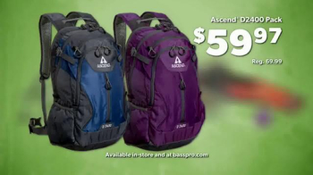 Bass Pro Shops Workender Event and Sale TV Spot, 'Backpacks & Hikers' - Thumbnail 3