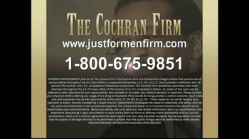 The Cochran Law Firm TV Spot, 'Just for Men' - Thumbnail 10
