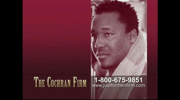 The Cochran Law Firm TV Spot, 'Just for Men' - Thumbnail 3