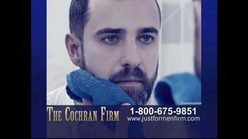 The Cochran Law Firm TV Spot, 'Just for Men' - Thumbnail 7