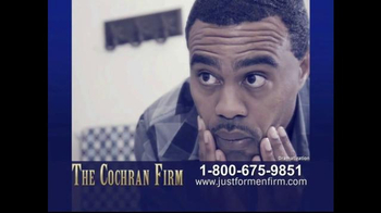 The Cochran Law Firm TV Spot, 'Just for Men' - Thumbnail 9