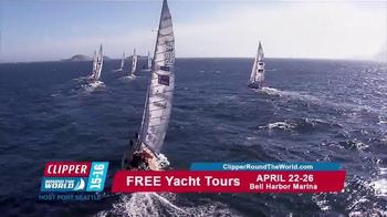 Clipper Round the World TV Spot, 'Yacht Tours' - Thumbnail 1